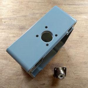 Manual 1:1 BalUn 800 Watt Enclosure SO239