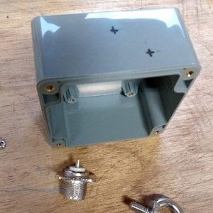 endFed Behuizing IP65 82x80x55
