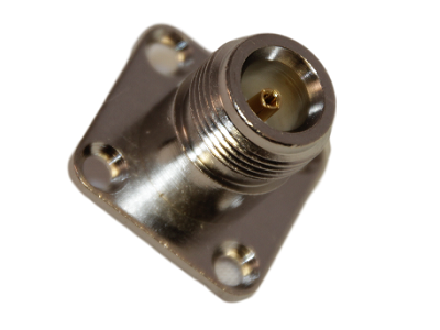 N Connector Chassis Square