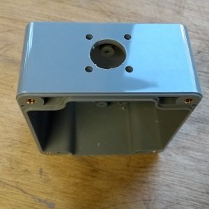 IP65 ABS Enclosure 82x80x55, PL connector holes