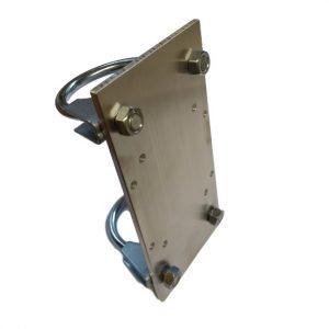 Mounting plate for 82x80x55mm housing