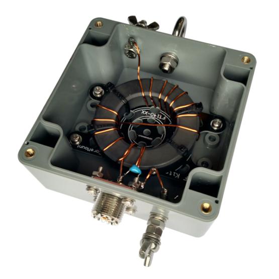 Endfed antenne kit 250 Watt