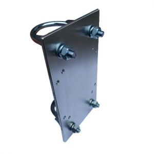 Mounting plate for 100x100x55mm housing
