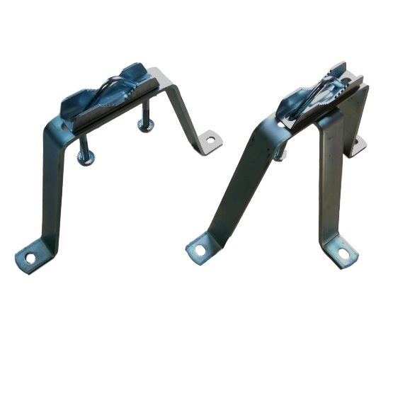 Wall bracket set for antenna mast 18 cm