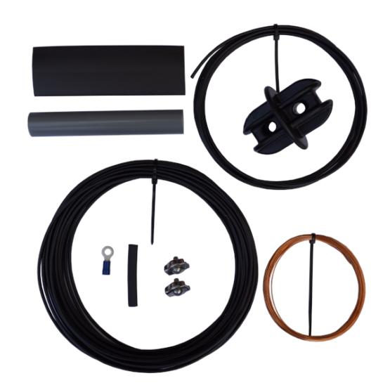 10/20/40 EndFed antenna DIY wire set
