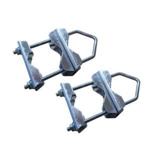 Mast coupling brackets