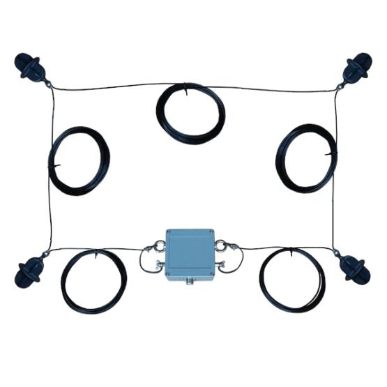 80 meter Quadloop antenna